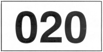 Number labels - numbered tags