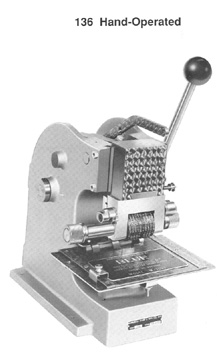 Dog tag engraver machine 23