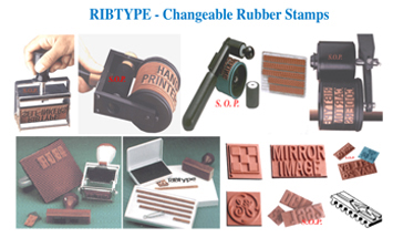 ribtype-changeable-rubber-stamps