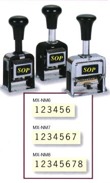 Light Duty Numbering Machines Number Stamping Machine